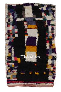 tapis noir du tadla