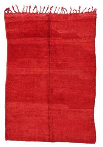 tapis de mrirt rouge