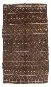 brown azilal carpet